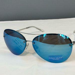 Cole Haan  Sunglasses CH7300 (410) Ice Blue Flash